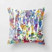 stand up Throw Pillow