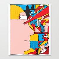 Study no. 6 Canvas Print