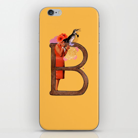 "A TO Z - ""B"" iPhone & iPod Skin"
