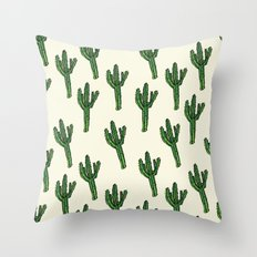 Cactus. Throw Pillow