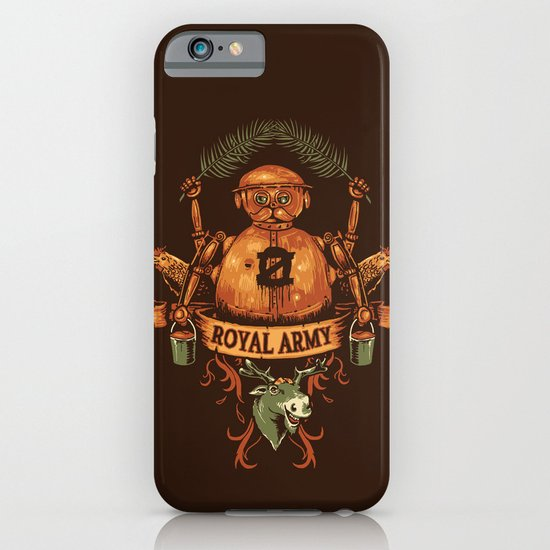 Royal Army iPhone & iPod Case