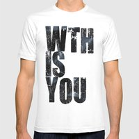 WTHISYOU Mens Fitted Tee White SMALL