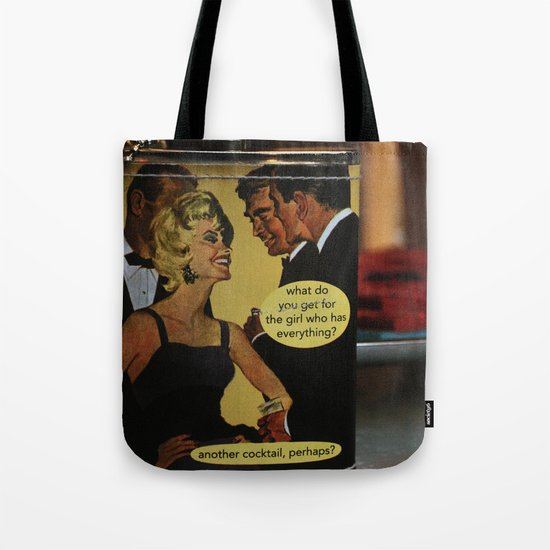 Another Cocktail Please Tote Bag
