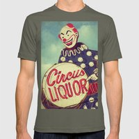 Circus Liquor, N. Hollywood, CA. Mens Fitted Tee Lieutenant SMALL