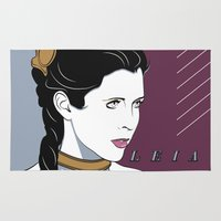 80s Princess Leia Slave Girl Rug