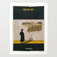 09_Archiwall_oscar Nieme… Art Print