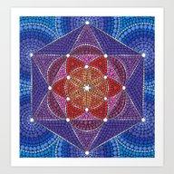 Creation Mandala Art Print
