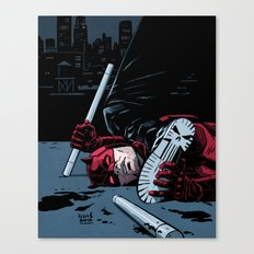 NO GOOD DEED GOES UNPUNISHED Canvas Print