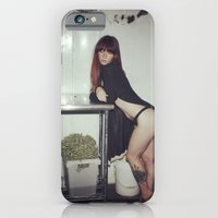 iPhone & iPod Case featuring Hattie Freezer by bobtheberto