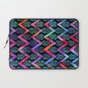 Diamond Chevron - Pop Laptop Sleeve