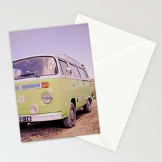 Let's go somewhere new Stationery Cards