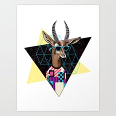 Teen Line Art Print