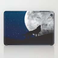 Howling Wolf iPad Case