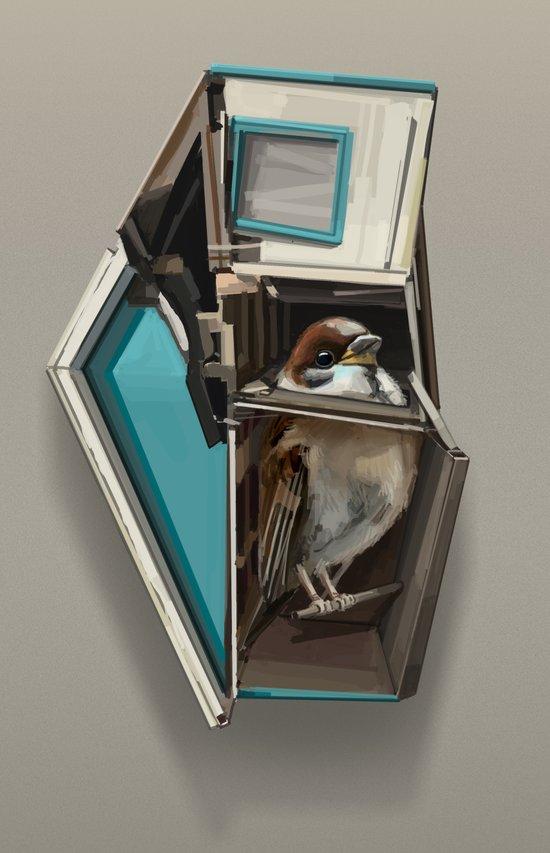 home bird Art Print