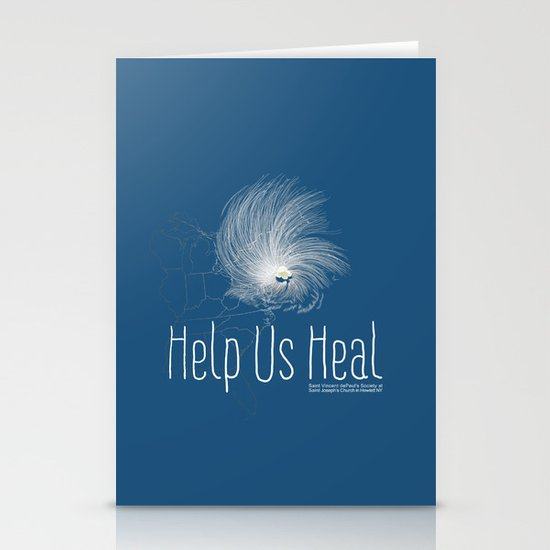 Help Us Heal - Hurricane Sandy Relief Stationery Card