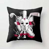 TMNT Casey Jones Throw Pillow