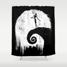 All Hallow's Eve Shower Curtain