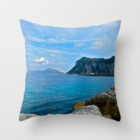 Sorrento: Amalfi Coast, Italy Throw Pillow