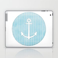 Anchor in Blue Laptop & iPad Skin