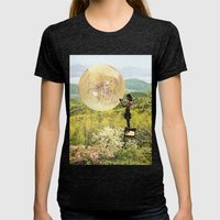 Golden Pockets Womens Fitted Tee Tri-Black SMALL