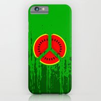 iPhone Cases featuring Watermelon by mailboxdisco