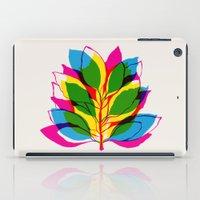 Blossom CMYK iPad Case