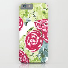 Peonies, Hydrangeas and Succulents Slim Case iPhone 6s