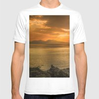 Sunset Over Lismore Isla… Mens Fitted Tee White SMALL