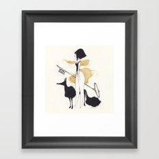 -K- Framed Art Print