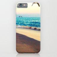 iPhone & iPod Case featuring Lotsa More Gulls by Beach Bum Chix