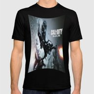 Call Of Duty Black Ops  … Mens Fitted Tee Black SMALL