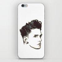 Xavier Dolan - B&W iPhone & iPod Skin