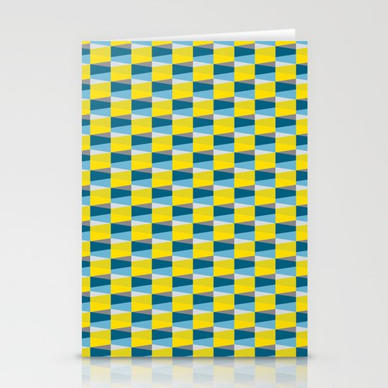 Aronde Pattern Stationery Card