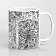 Shades Of Grey - Mono Fl… Mug
