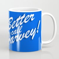 Better Call Harvey Mug