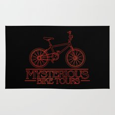 Mysterious Bike Tours Rug