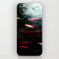 Abstract Goldfish_03 iPhone & iPod Skin