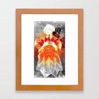 Fire Fairy Framed Art Print