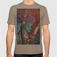 T-shirt featuring Big Birch In Autumn Ligh… by Die Farbenfluesterin
