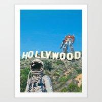 Hollywood Prime Art Print