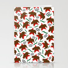 California Pattern Stationery Cards