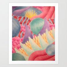 Venus in Fur Art Print