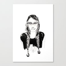 miss makeena Canvas Print