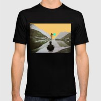 The Walk Mens Fitted Tee Black SMALL
