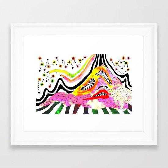 """Melophobia"" by Steven Fiche Framed Art Print"