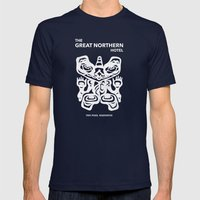 Great Northern Hotel Twi… Mens Fitted Tee Navy SMALL