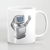 Happy Bot Mug