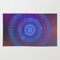 Technicolor Cosmos Blue Rug