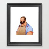 Bear - Classic Framed Art Print