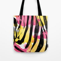 Zebra Fun  Tote Bag